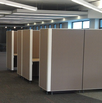 Private Workstations and Conference Room