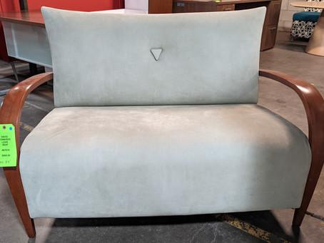 Showroom Sample Sale: David Edwards Love Seat