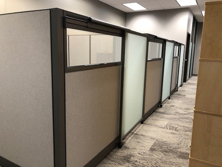 Small Open Office and Conference Room