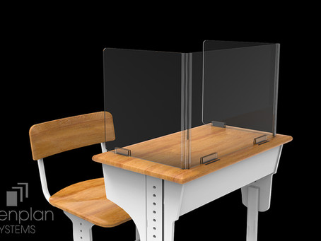 Open Plan Systems: Folding Desk Screens