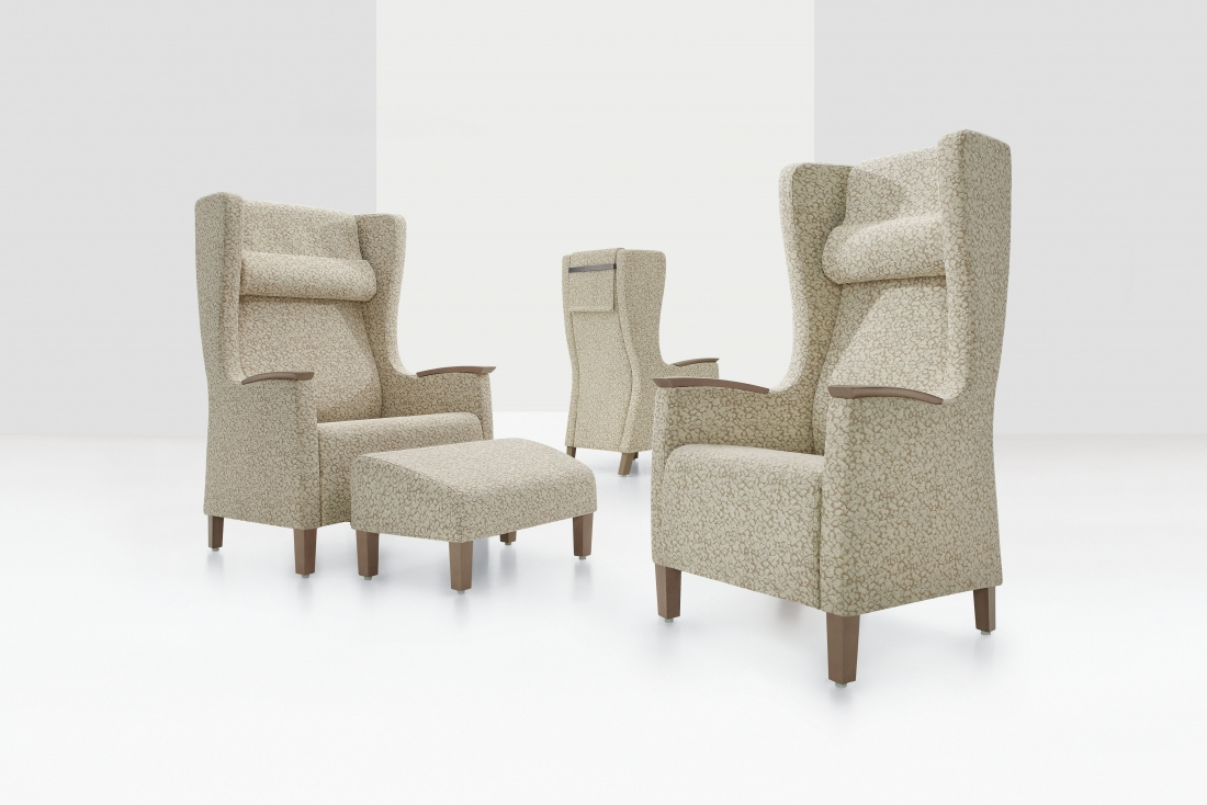 Global Total Office Primacare Wingback