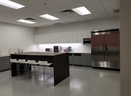 Breakroom with Large Community Table