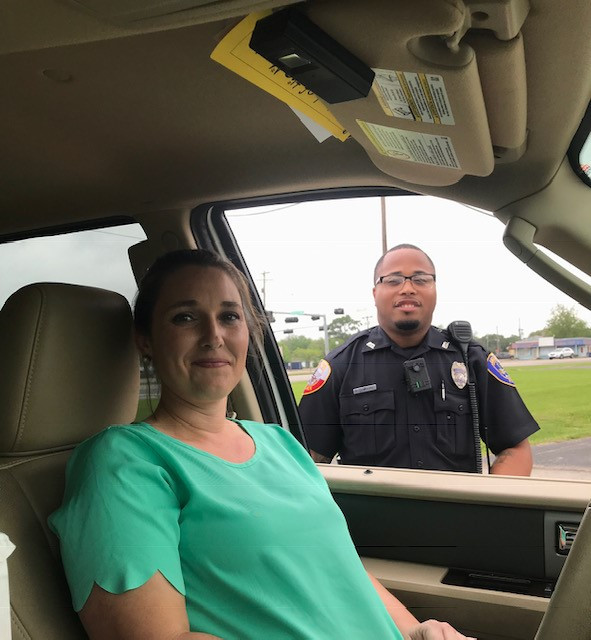 Angleton Texas Officer and Local Insurance Agent