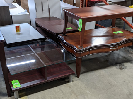 Used Coffee Tables