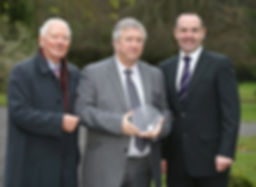 'Leading Light Award' for road saftey presented to MD Fred Reilly