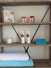 Sports Massage Clinic, lotions and tape