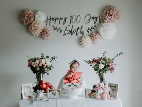 A 100 Days Celebration Photo Session!