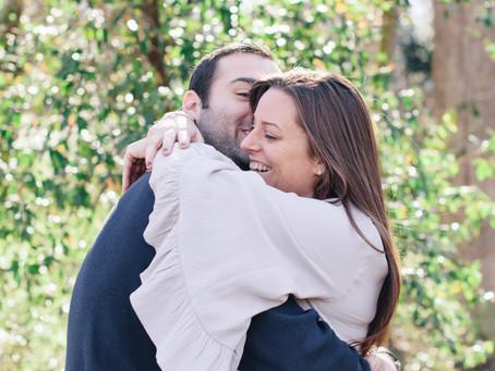 Sneak Peek: Lori & Jason's Engagement Photos / Charlotte, NC