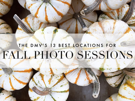 The DMV's 13 Best Locations for Fall Photo Sessions