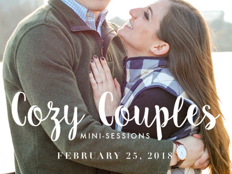 Cozy Couples Mini-Sessions