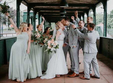 Highlights: Caitlin + Brendon's Poughkeepsie, NY Wedding