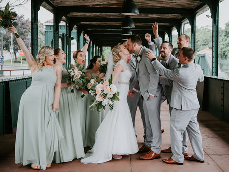 Highlights: Caitlin + Brendon's Poughkeepsie, NY Wedding