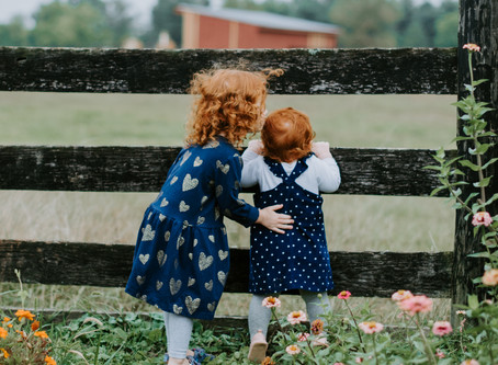 Highlights: Family Portrait Session at Frying Pan Farm Park!