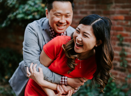 Alice + Stephen: An Old Town Engagement