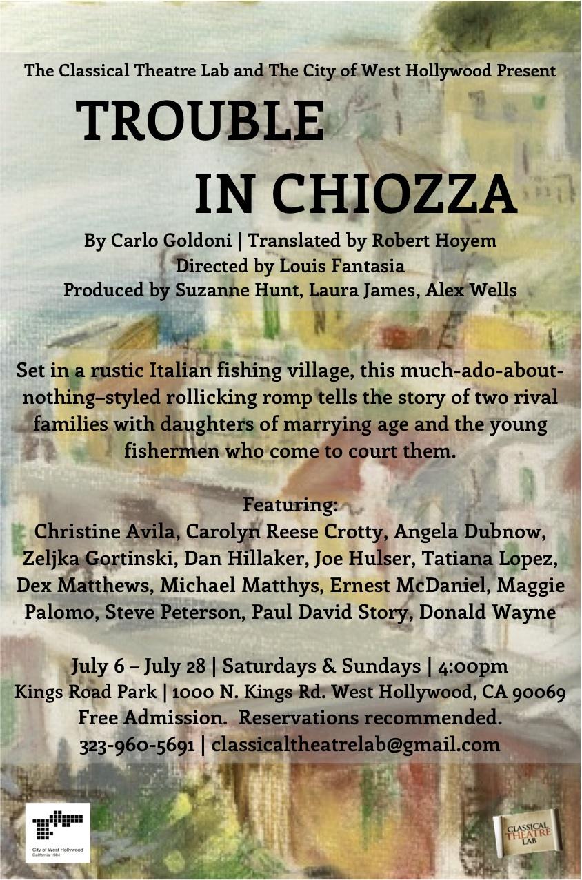 Trouble in Chiozza
