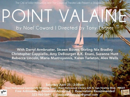Point Valaine Staged Reading