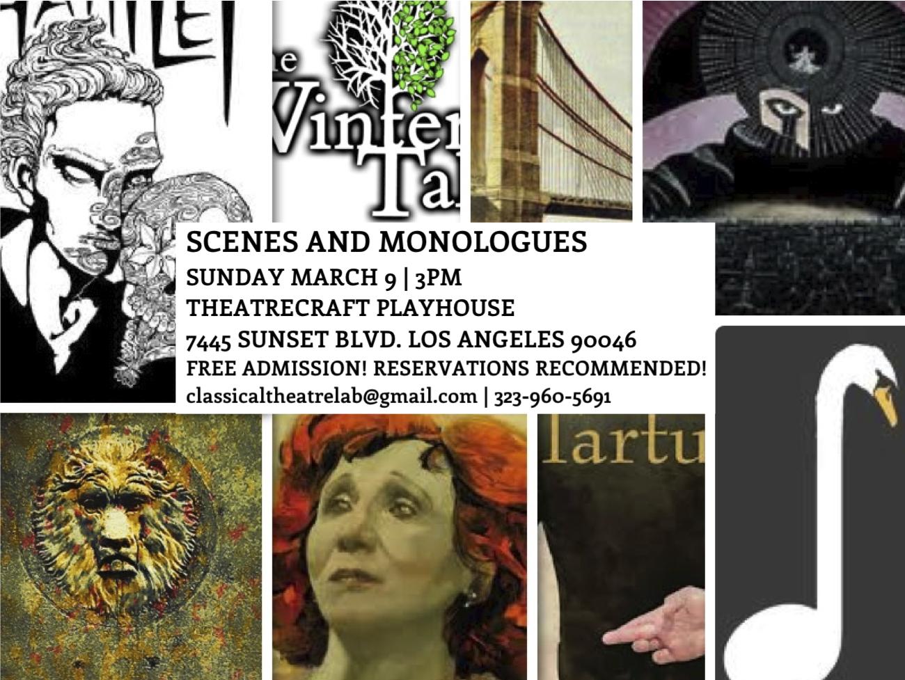 Scenes & Monologues