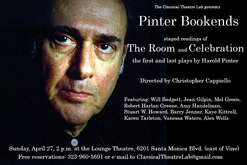 Pinter Bookends