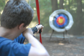Shoot film then shoot arrows!
