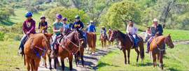 Horseback Riding at Camp Jack Hazard!