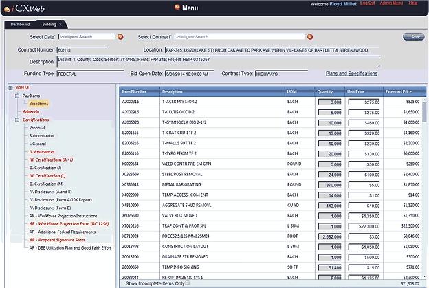 ExeVision iCXWeb screenshot