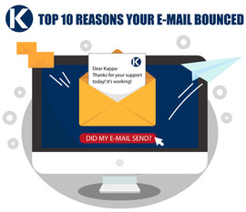 10 REASONS YOUR EMAIL IS BOUNCING BACK
