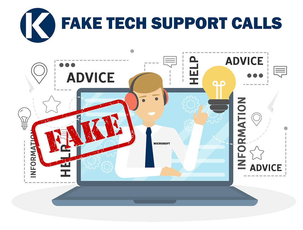 Fake Tech IT Support Calls