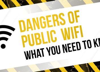 USING PUBLIC WIFI? BE CAREFUL...