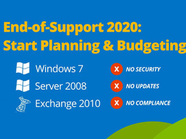WINDOWS END OF LIFE, HOW TO BE PREPARED BEFORE 2020
