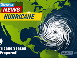 IT IS HURRICANE SEASON...BE PREPARED IN 3 STEPS