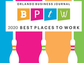 2020 BEST PLACE TO WORK