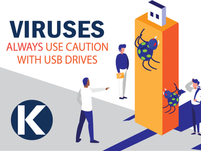 USING CAUTION WITH USB DRIVES