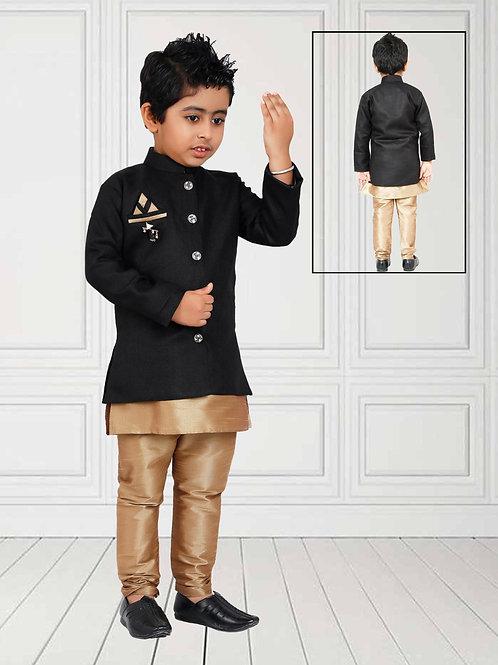 Ethnic, Kids Wear, Royal sherwani set, Kids Kurta Paijama, Kids Indian Outfit