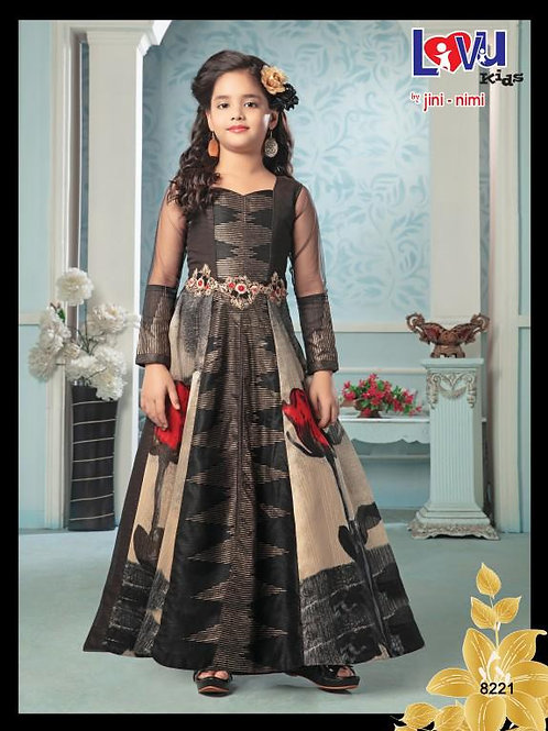 Ethnic, Kids Wear for Girls, Anarkali suit, Kids Designer Clothing, Indian Fashion for Kids