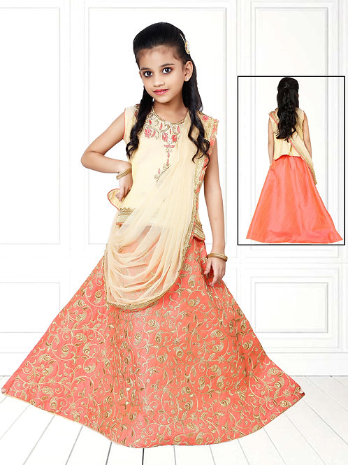Ethnic, Kids Wear for Girls, Stylish Lehnga, Kids Designer Clothing, Indian Fashion for Kids