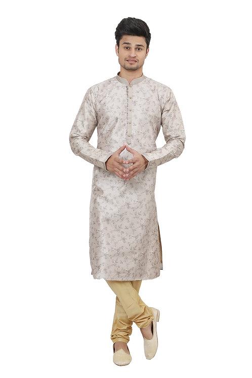 Ethnic   Kurta Paijama   Indian   Pestal Color   Full Sleeve