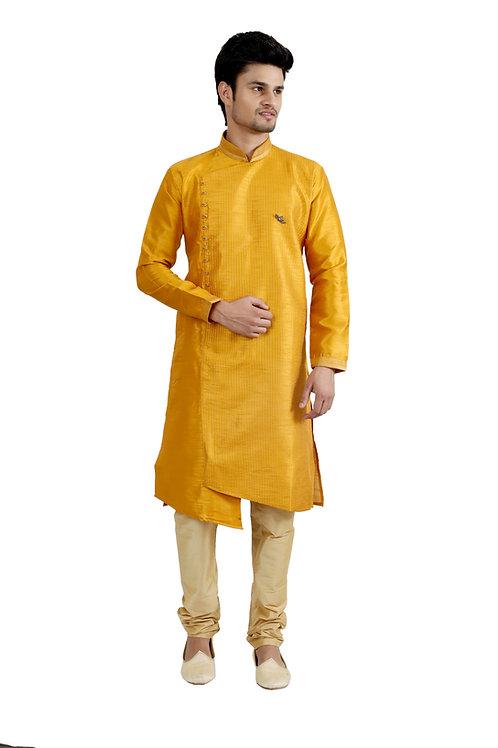 Ethnic | Kurta Paijama | Indian | Angrakha Style | Full Sleeve