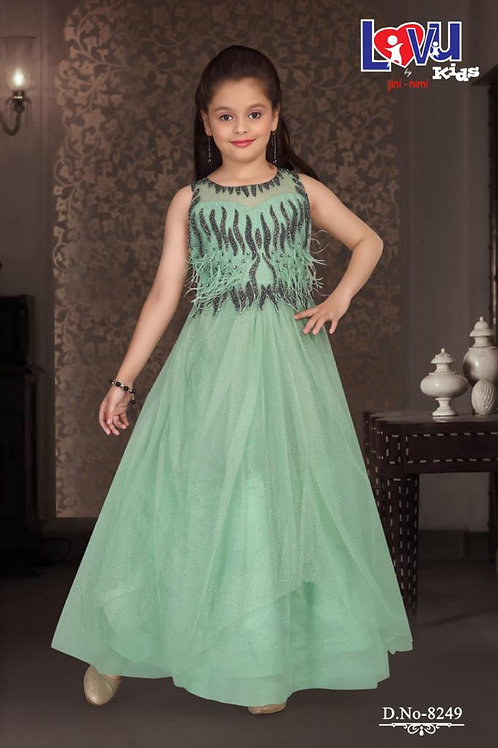 Ethnic, Kids Wear for Girls, Anarkali suit, Pakistani Kids Fashion, India Wedding Style