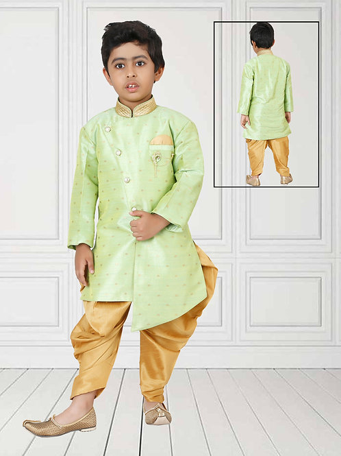 Ethnic, Kids Wear, Angrakha Kurta paijama set, Kids Kurta Paijama, Kids Indian Outfit