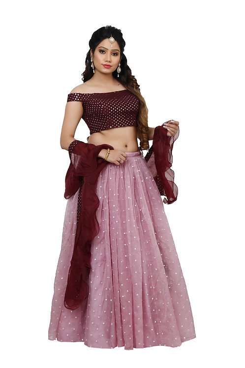 Ethnic | Shaded Lehnga | Indian | Lehnga