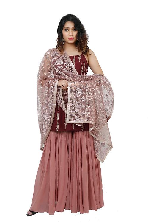 Ethnic | Sharara | Indian | Ladies Suit