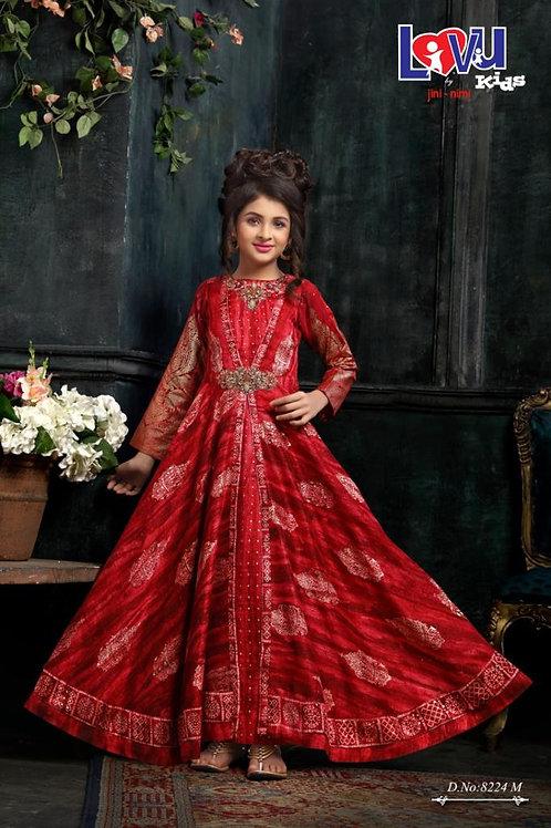 Ethnic, Kids Wear for Girls, Anarkali suit, Indian Wedding Style, Fashion for Kids