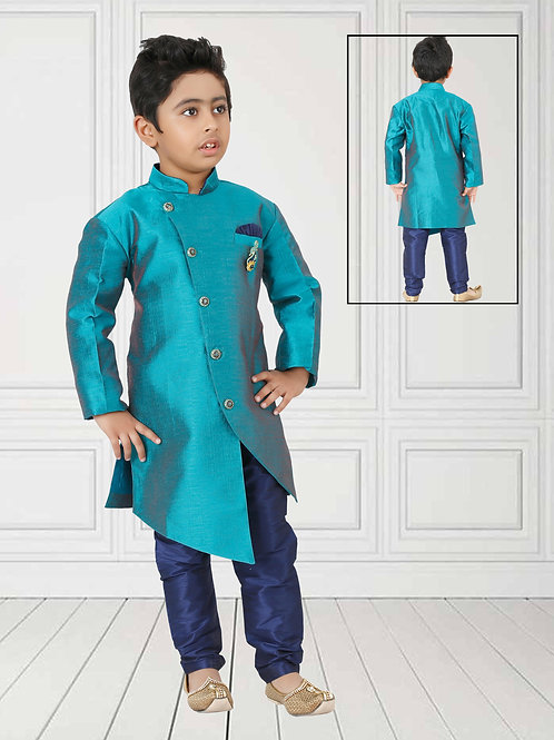 Ethnic, Kids Wear, Angrakha Kurta paijama, Kids Kurta Paijama, Kids Indian Outfit