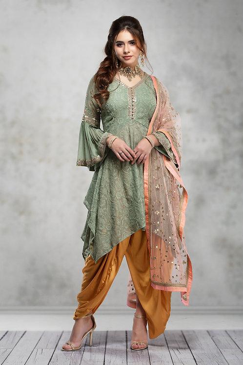 Ethnic | Patiala Suit | Indian | Lehnga