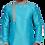 Ethnic | Embroidered Art Silk Kurta Set in Soft light Blue | Indian | Kurta Paijama
