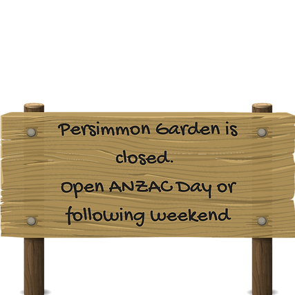 Persimmon Garden is now closed. Open aga