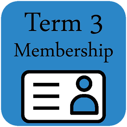 Term 3 Membership (10 weeks)