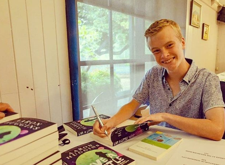 Aaron Huggins: Launch Pad Student Becomes Published Author… at Fifteen!