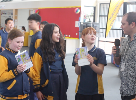 Interview with Grade 6 Authors from Doncaster Primary School [Video]