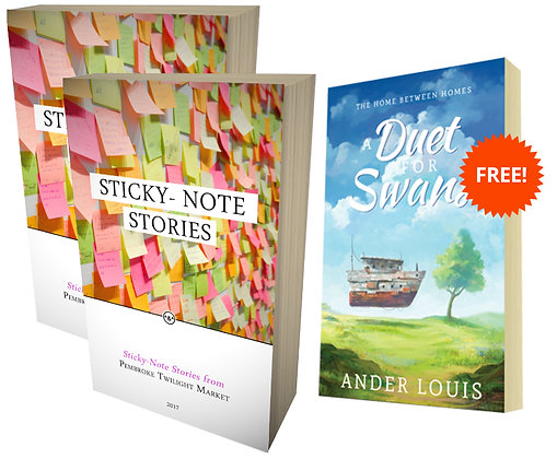Two Book + Novel Value Bundle (STICKY17)